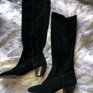 Michael Kors knee high suede boots